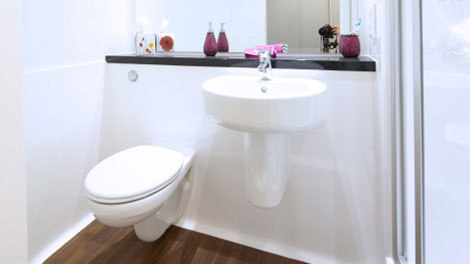 R1 Composite Bathroom Pod