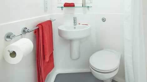 S4 Composite Bathroom Pod