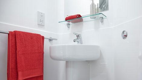 TH1 Composite Bathroom Pod