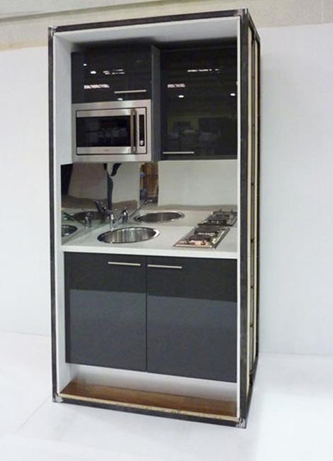 Steel Kitchen Pods Walker Modular